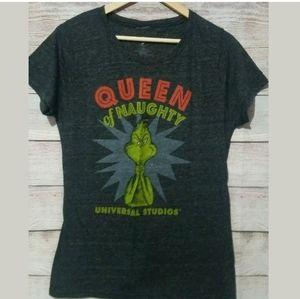 Universal Studios Queen of Naughty Grinch T-shirt